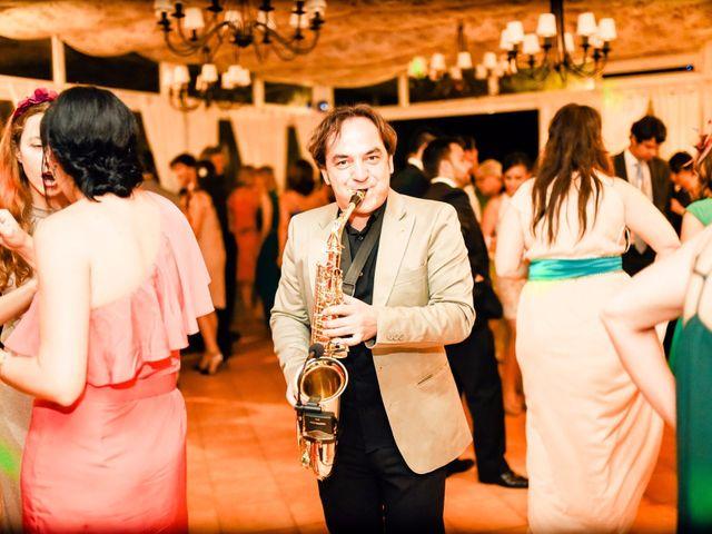 La boda de Jean-Philippe y Mª Rosario en Navalagamella, Madrid 40