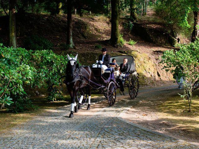 La boda de Toni  y Silvia en Soutomaior, Pontevedra 2