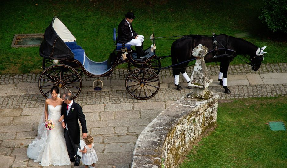 La boda de Toni  y Silvia en Soutomaior, Pontevedra