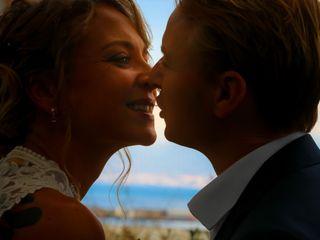 La boda de Christina y Per