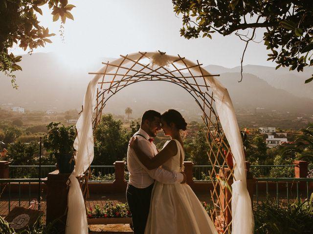 La boda de Diego y Geraldine en Santa Cruz De La Palma, Santa Cruz de Tenerife 45