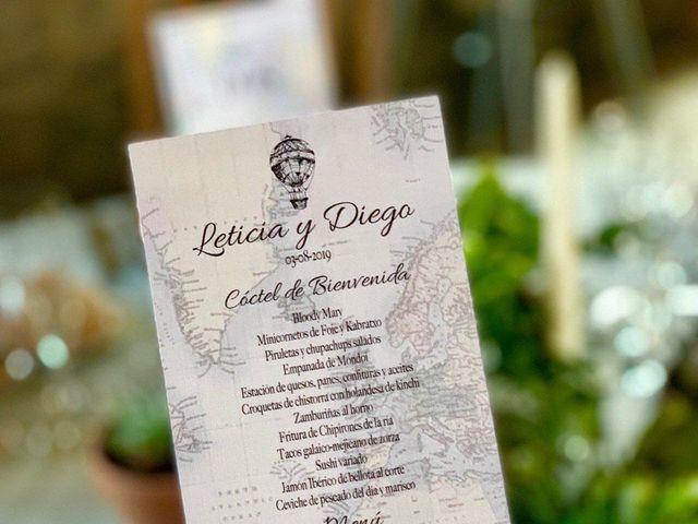 La boda de Diego y Leticia en Paio (Oza Dos Rios), A Coruña 20