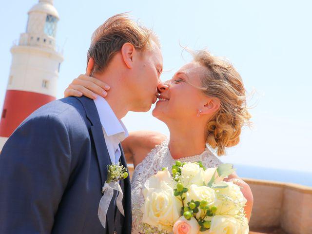 La boda de Per y Christina en Torreguadiaro, Cádiz 2