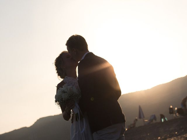 La boda de Per y Christina en Torreguadiaro, Cádiz 1