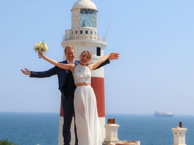 La boda de Per y Christina en Torreguadiaro, Cádiz 17