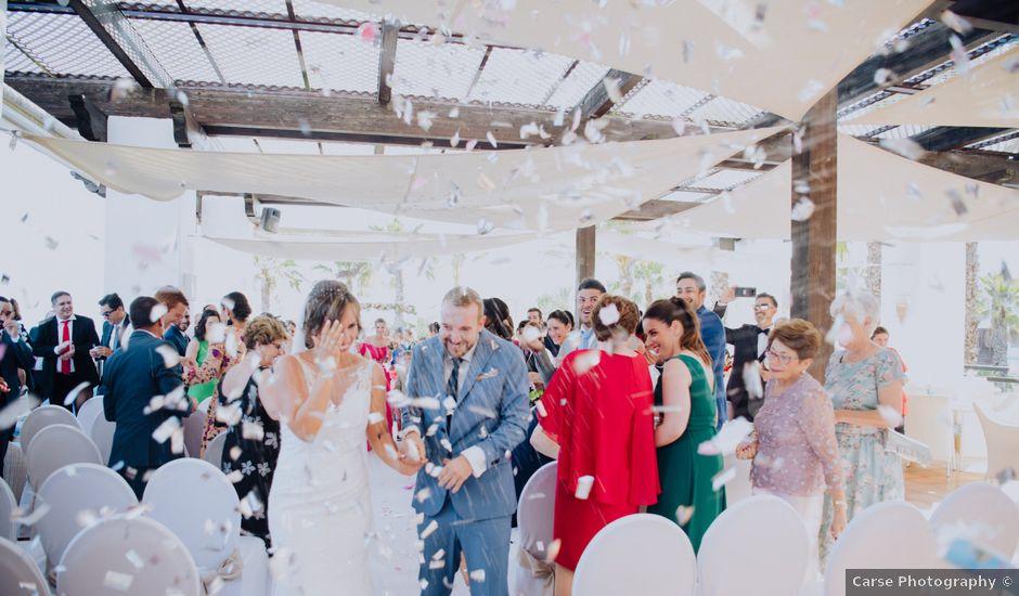 La boda de Rafa y Cristina en Estepona, Málaga
