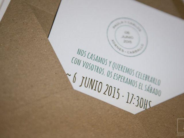 La boda de Carlos y Paula en Laxe, A Coruña 6