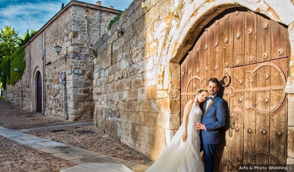 La boda de Alberto y Rebeca en Zamora, Zamora