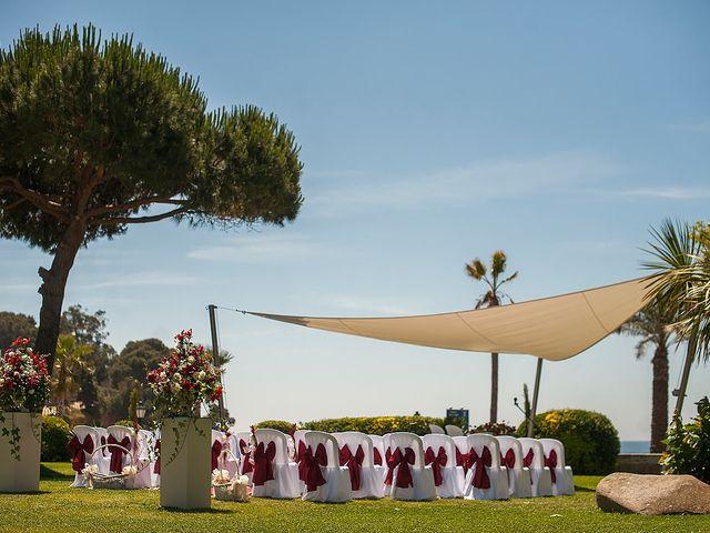 La boda de Eduard y Elena en S'agaro, Girona 36