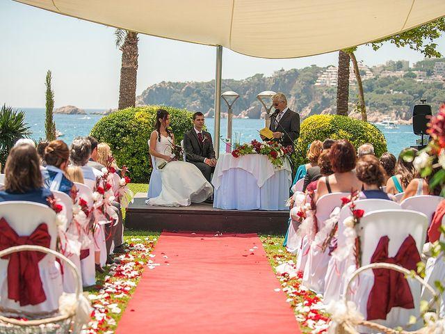 La boda de Eduard y Elena en S'agaro, Girona 42