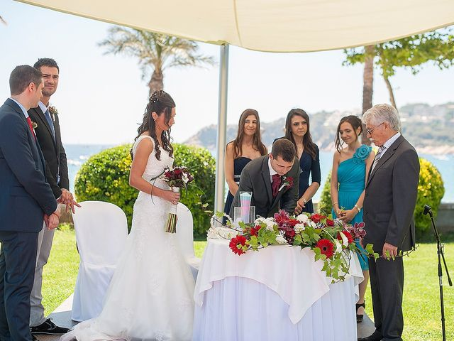 La boda de Eduard y Elena en S'agaro, Girona 50