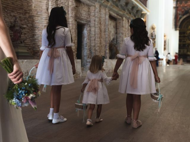 La boda de Fredi y Cristina en Cintruenigo, Navarra 32