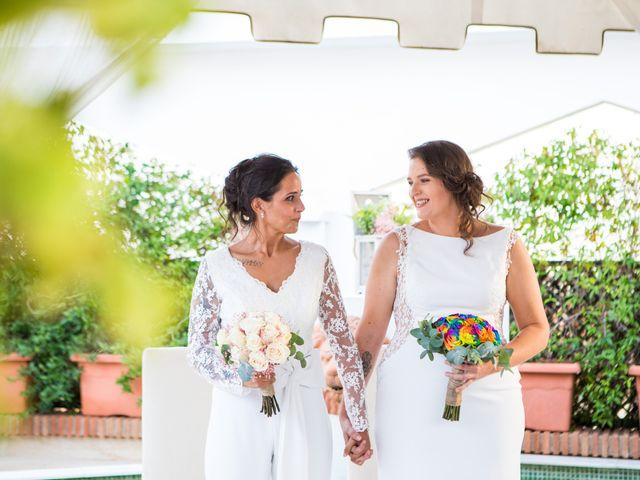 La boda de Mari Carmen y Noelia en Huetor Vega, Granada 15