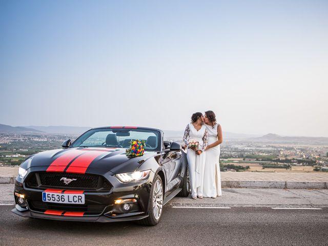 La boda de Mari Carmen y Noelia en Huetor Vega, Granada 16