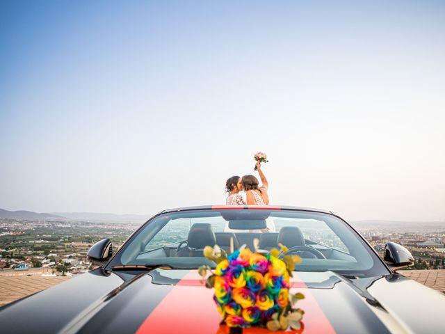 La boda de Mari Carmen y Noelia en Huetor Vega, Granada 18