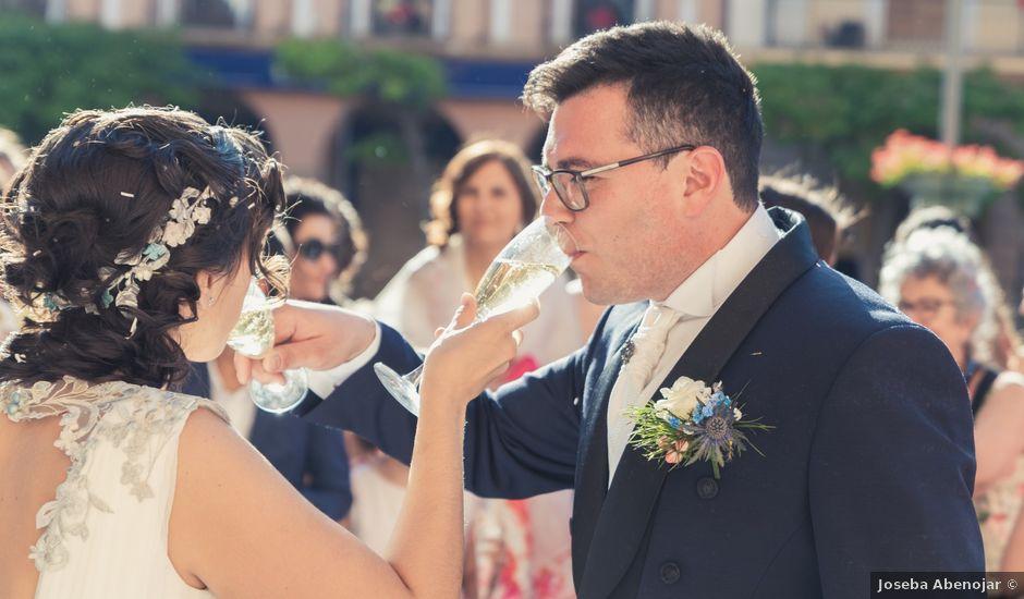 La boda de Fredi y Cristina en Cintruenigo, Navarra