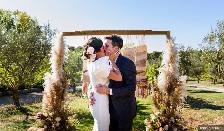 La boda de Adrià y Marina en Arnes, Tarragona