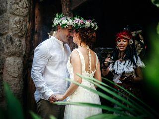 La boda de Ksenia y Jorge