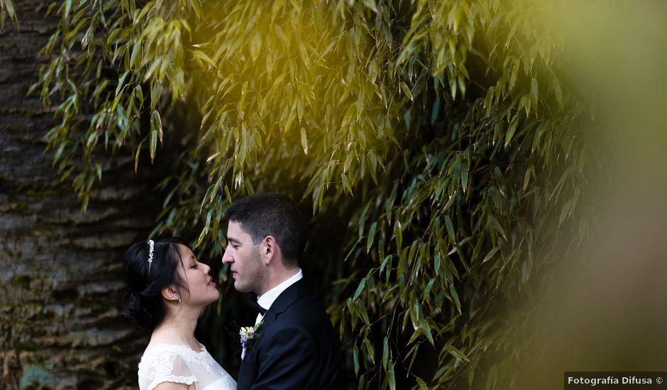 La boda de Kike y Min en Vigo, Pontevedra