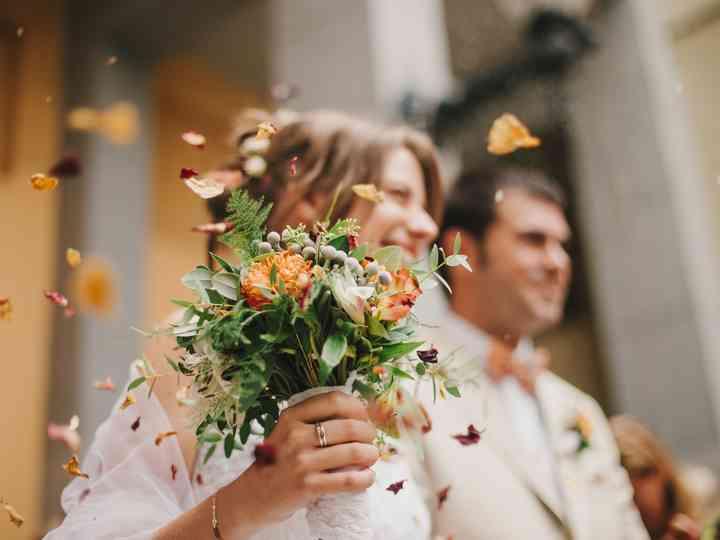 La boda de Elisenda y Ramon