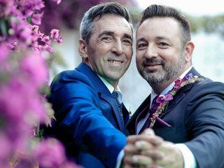 La boda de Josep Bernat y Manuel