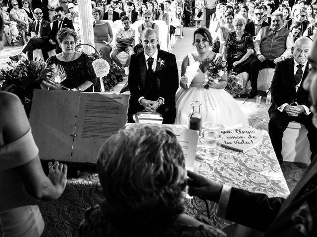 La boda de Guillermo y María en Navahermosa, Huelva 28