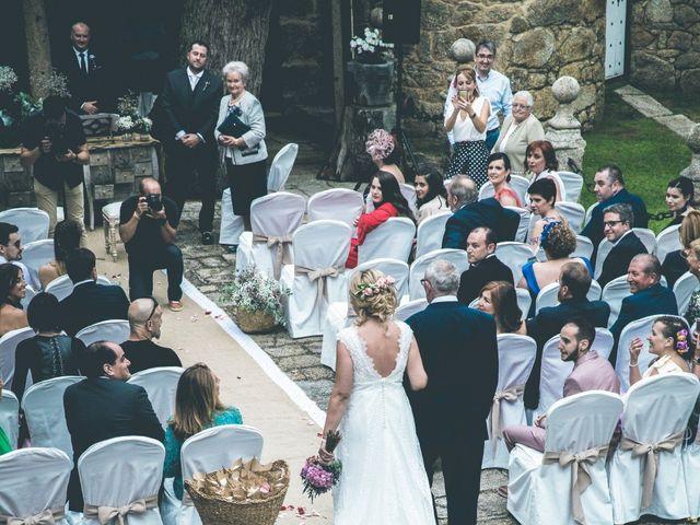 La boda de David y Marta en Vilaboa (Rutis), A Coruña 12