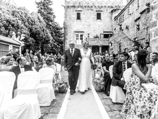 La boda de David y Marta en Vilaboa (Rutis), A Coruña 19