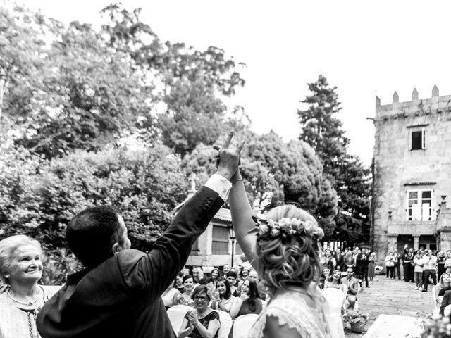 La boda de David y Marta en Vilaboa (Rutis), A Coruña 1