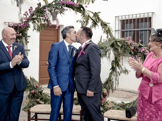 La boda de Manuel y Josep Bernat en Algemesí, Valencia 1