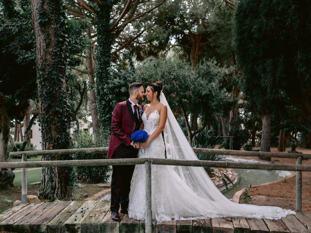 La boda de Jesús y Samara en Sant Vicenç De Montalt, Barcelona 30