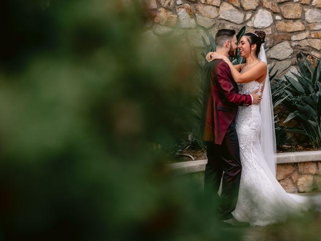 La boda de Jesús y Samara en Sant Vicenç De Montalt, Barcelona 34