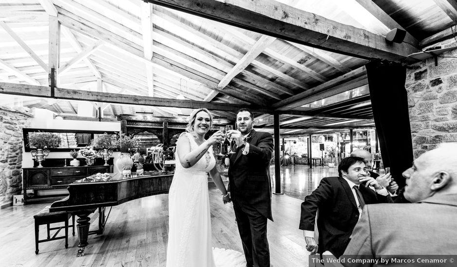 La boda de David y Marta en Vilaboa (Rutis), A Coruña
