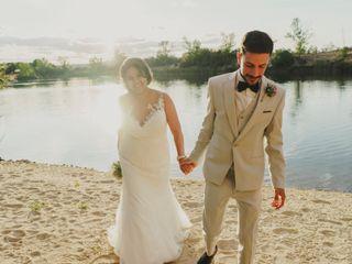 La boda de Jamila y David