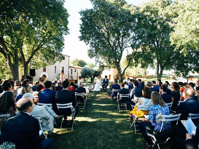 La boda de Guillaume y Anne-Sophie en Pontos, Girona 21