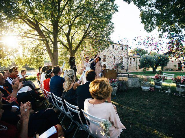La boda de Guillaume y Anne-Sophie en Pontos, Girona 25