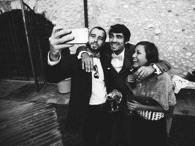 La boda de Guillaume y Anne-Sophie en Pontos, Girona 28
