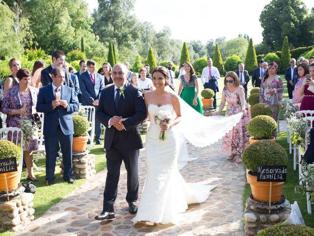 La boda de Sergio y Sandra en Torremocha Del Jarama, Madrid 14