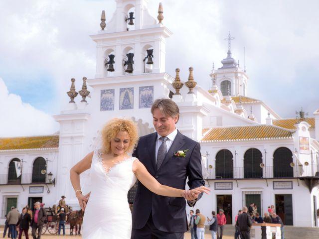 La boda de Joaquin y Lourdes en El Rocio, Huelva 2