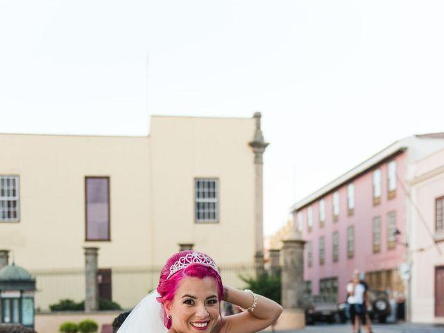 La boda de Oliver y Laura en La Orotava, Santa Cruz de Tenerife 15
