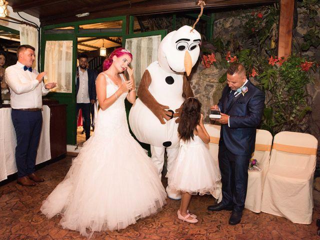 La boda de Oliver y Laura en La Orotava, Santa Cruz de Tenerife 1