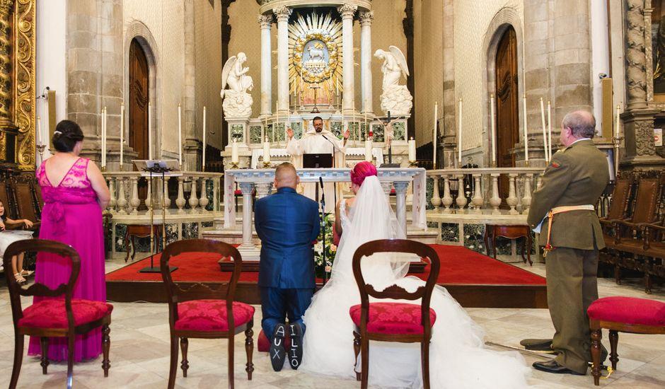 La boda de Oliver y Laura en La Orotava, Santa Cruz de Tenerife