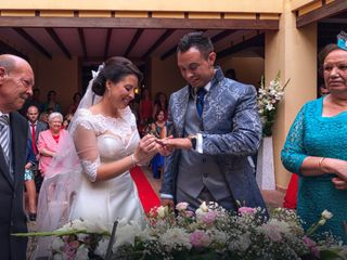 La boda de Esther y Ángel