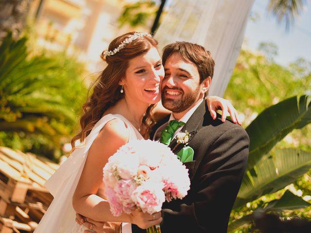 La boda de Flor y Dani