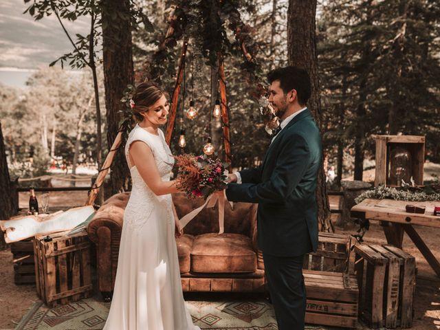 La boda de Andrés y Itziar en Rascafria, Madrid 90
