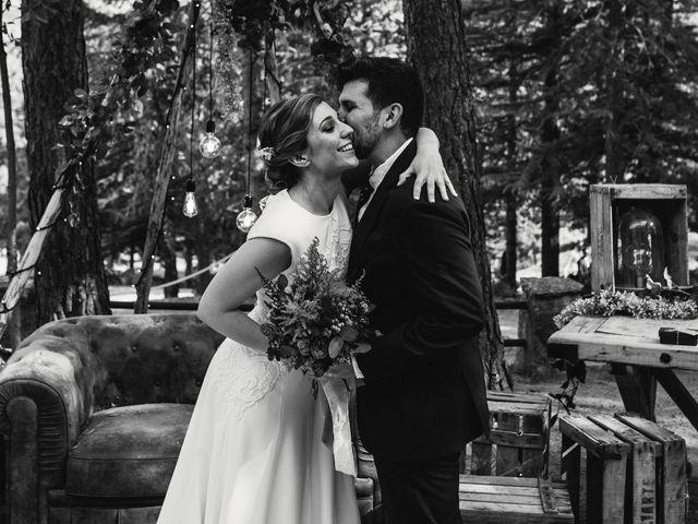 La boda de Andrés y Itziar en Rascafria, Madrid 92