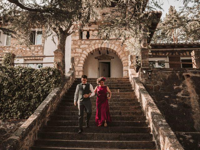 La boda de Andrés y Itziar en Rascafria, Madrid 108