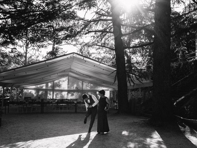 La boda de Andrés y Itziar en Rascafria, Madrid 109