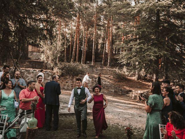 La boda de Andrés y Itziar en Rascafria, Madrid 110