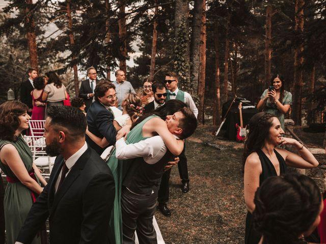 La boda de Andrés y Itziar en Rascafria, Madrid 131